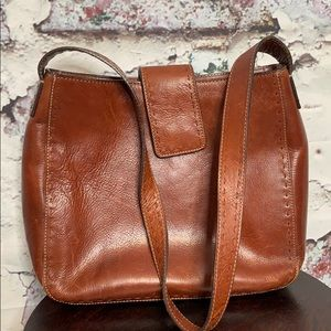 Fossil leather hobo shoulder bag